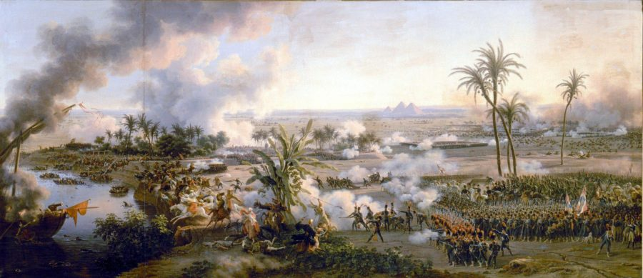A Batalha das Pirâmides, Louis-François Baron.