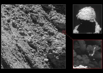 Crédito: ESA/Rosetta