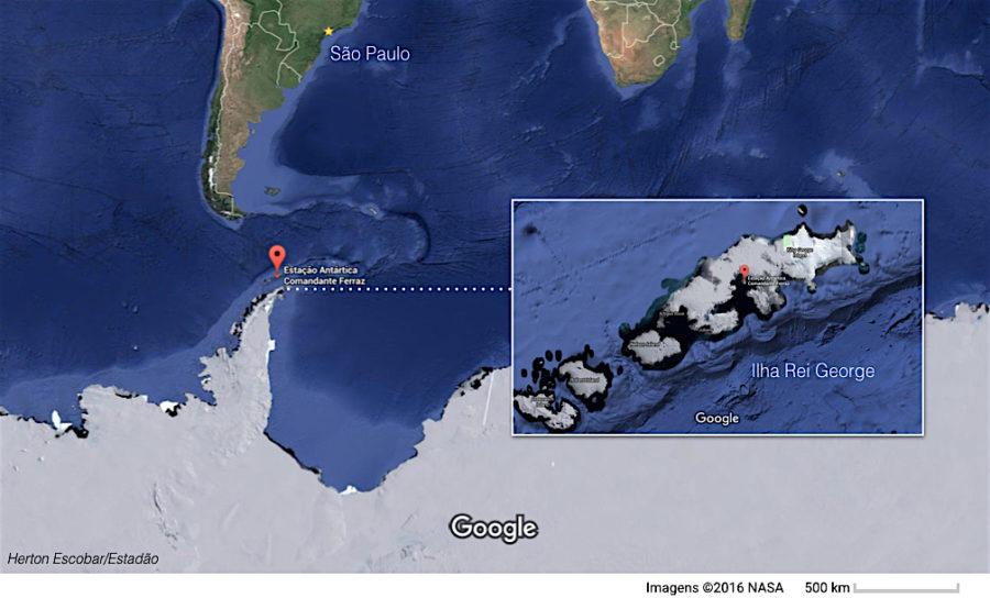 Para ver a localização exata da Estação Comandante Ferraz no Google Maps, clique aqui: https://goo.gl/maps/FBp3G5968Qt