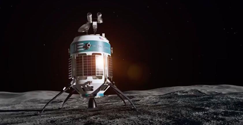 O dinheiro privado está planejando voos à Lua. Crédito: Moon Express