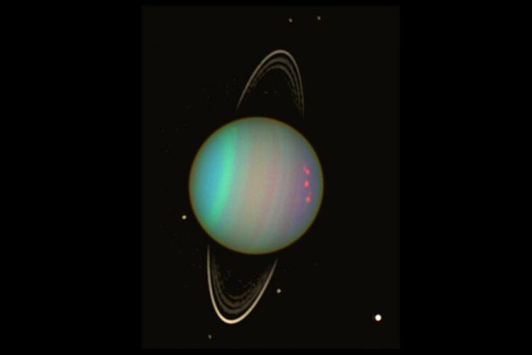 Urano: Um futuro violento espera algumas luas. Crédito da imagem: NASA