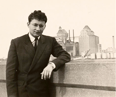 Guy Debord at flour mill