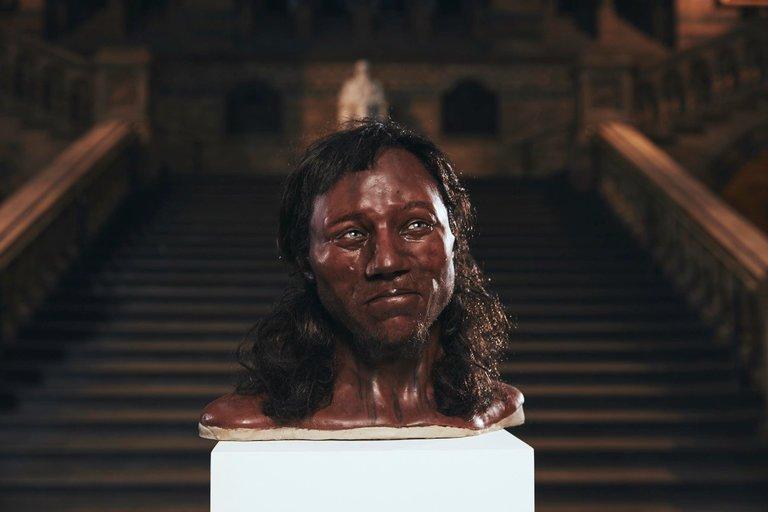 Cheddar Man: um dos mais antigos humanos da Inglaterra que não tinha a pele clara.