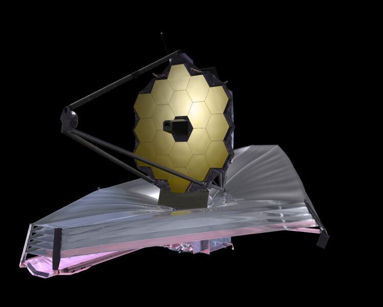 A NASA postergou o lançamento do seu novo telescópio espacial,  o James Webb Space Telescope (JWST) até maio de 2020 devido à necessidade de mais testes  Crédito: NASA