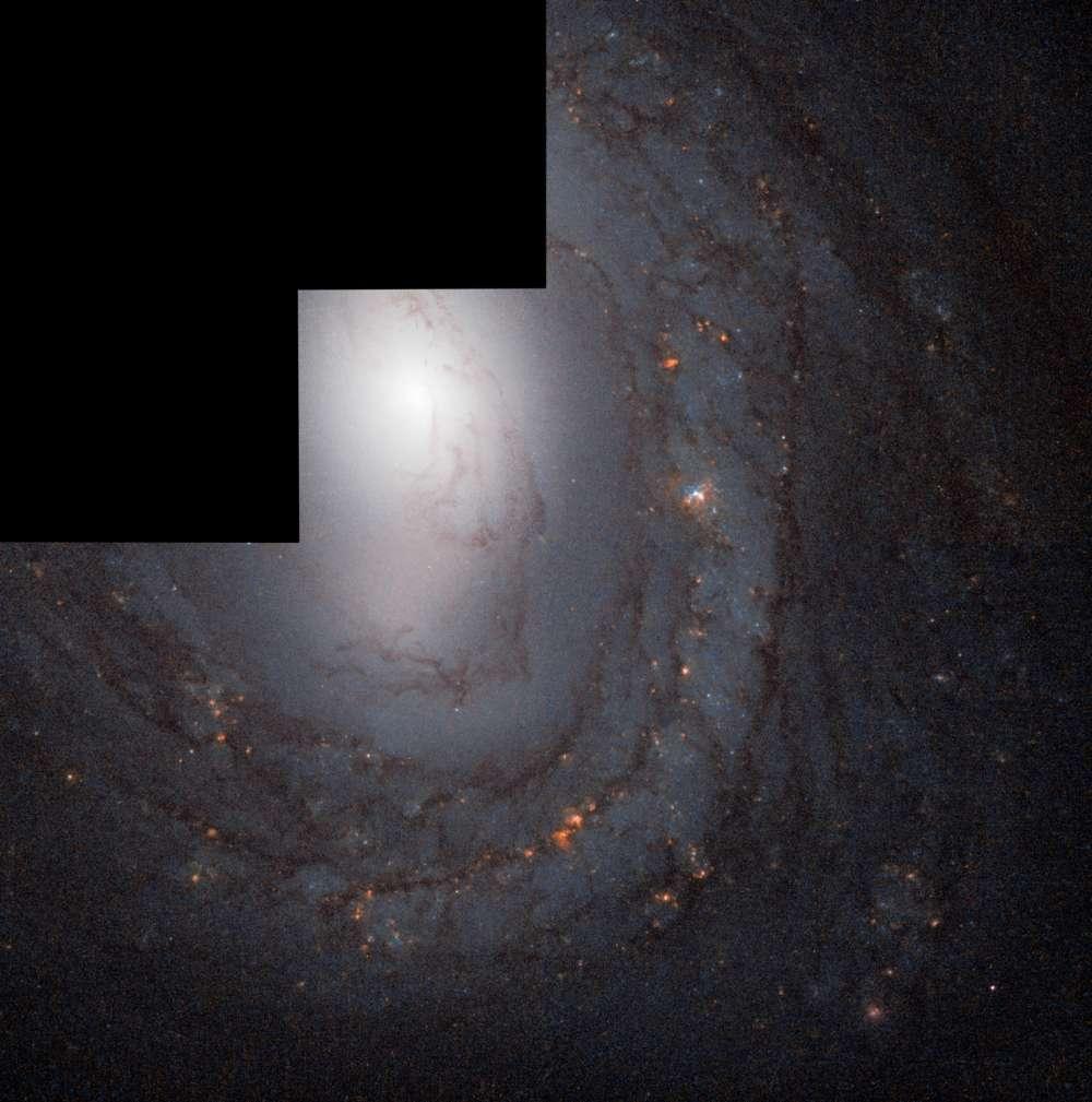 O M58, localizado a 62 milhões de anos-luz da Terra, foi uma das primeiras galáxias reconhecidamente de formato espiral