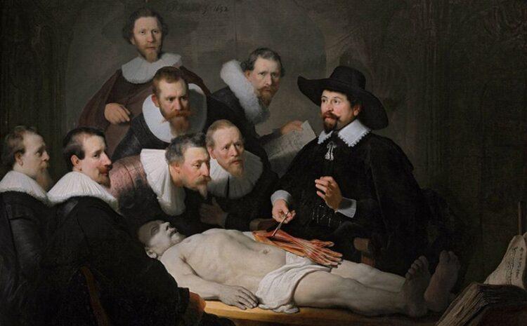 Rembrandt, Lições de Anatomia.