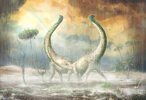 Uma nova espécie gigante de dinossauro é descoberta na Tanzânia