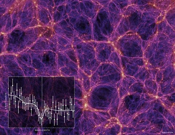 Astrofísicos podem ter encontrado a massa perdida do universo