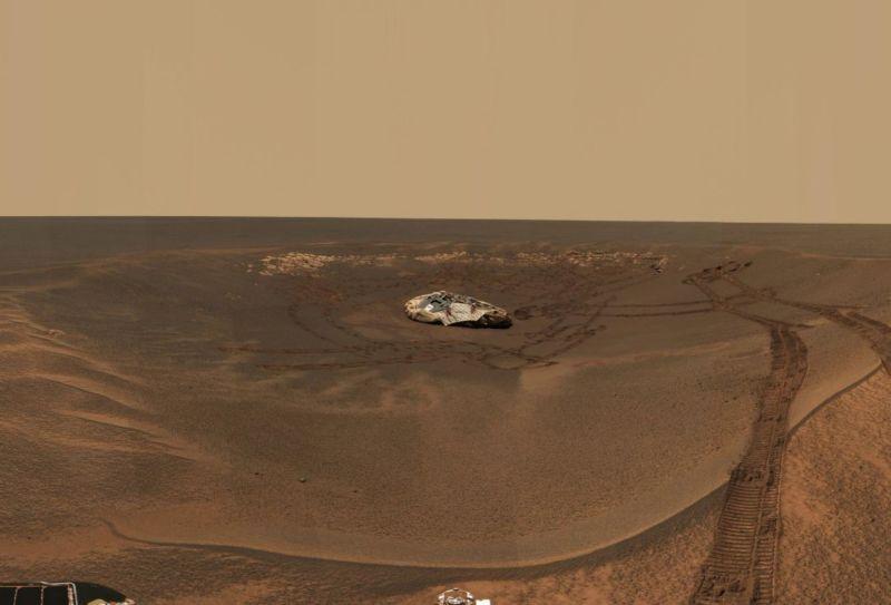 Oportunity não respondeu à chamada final da NASA, e, ao que tudo indica, isso é um adeus