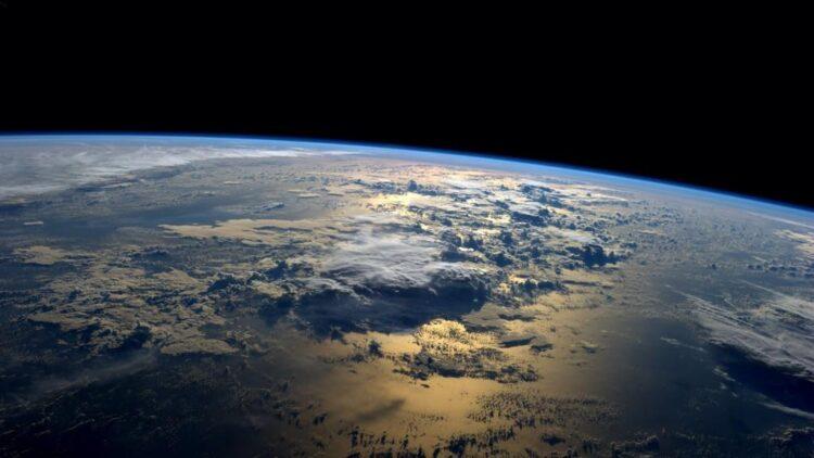 A Terra vista do espaço por um astronauta (Crédito: NASA)