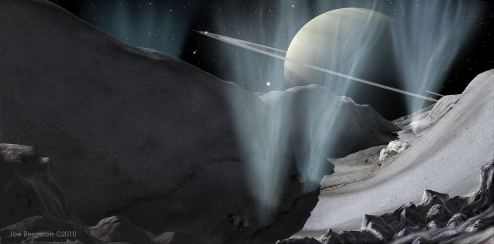 Nova teoria de marés explica gêiseres em Encélado, lua de Saturno