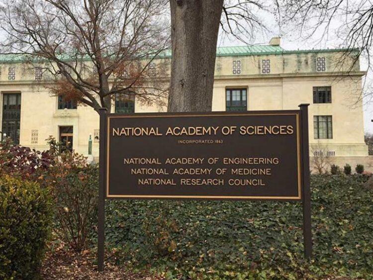 A Academia Nacional de Ciências tem sua sede em Washington, DC. Crédito: FYI / William Thomas
