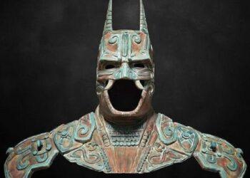 Imagem ilustrativa de um Batman moderno 'mexicano'.
