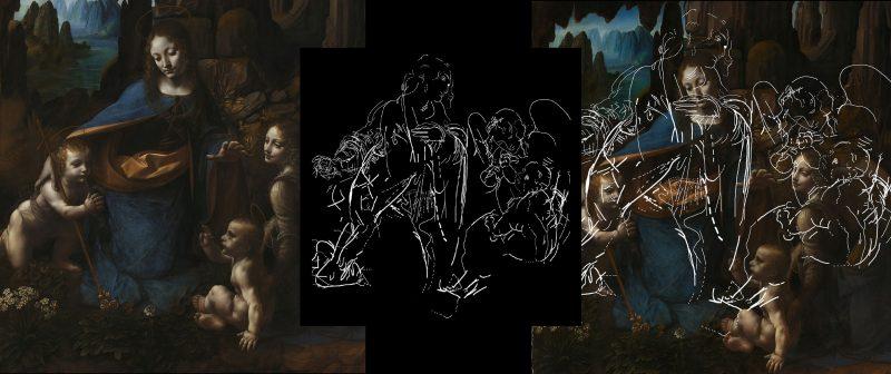 Novas imagens revelam detalhes da pintura oculta sob obra-prima de Leonardo  Da Vinci