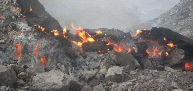 Este misterioso fogo está queimando há 6.000 anos