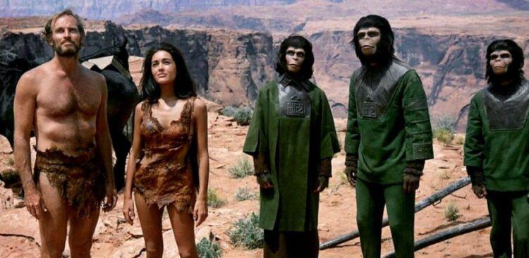 """(Imagem: Cena do filme """"O Planeta dos Macacos de 1998."""")"""