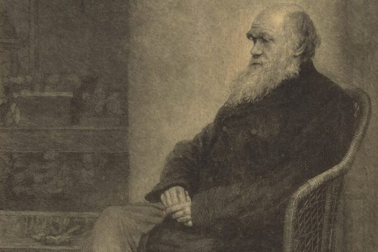 Retrato de Charles Darwin, de Thomas Johnson.