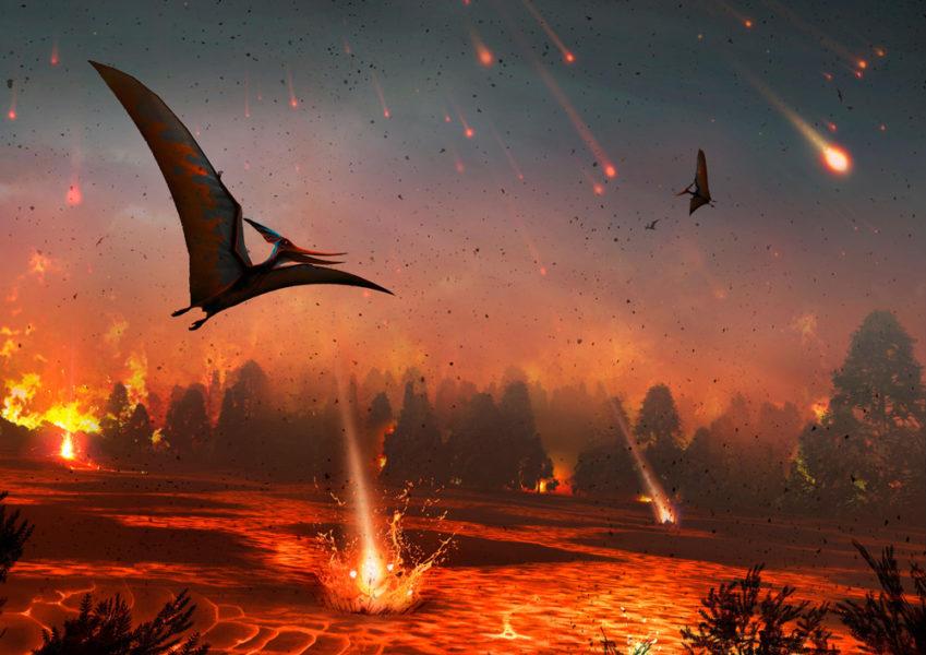 Estamos perturbando o ciclo de carbono da Terra mais que o asteroide que aniquilou os dinossauros