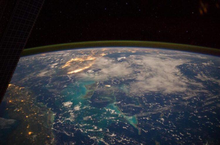 O Mar do Caribe do espaço (Imagem: NASA Marshall Space Flight Center / Flickr)