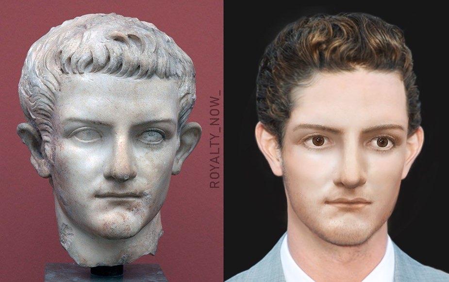 Face de Calígula