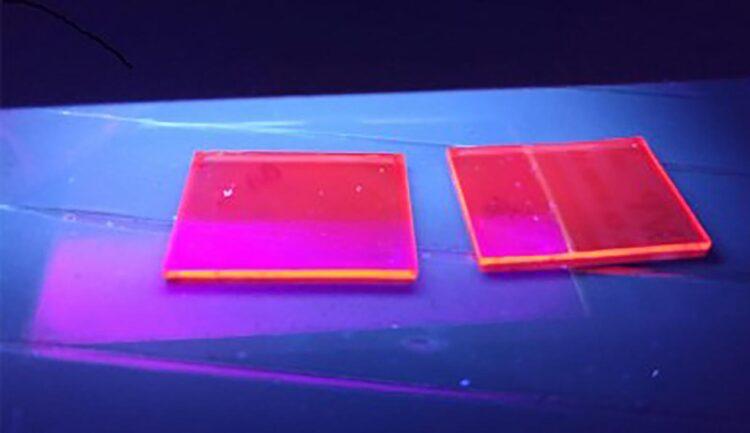 Perovskita, classe de materiais cristalinos com potencial de aplicação em energia solar, tem sido estudada por pesquisadores da Unicamp vinculados ao Centro de Inovação em Novas Energias (perovskita bidimensional sintetizada no CINE / imagem: CINE)
