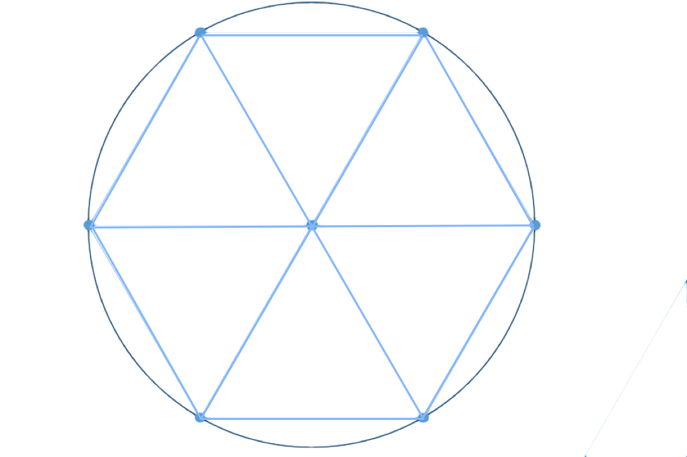 O conceito de tempo atual foi criado pelos sumérios há 5.000 anos. Quando a geometria foi desvendada pelos gregos e pelos islâmicos, os antigos perceberam que o número 360 não era somente o período de tempo da órbita ideal da Terra, mas também a medida perfeita de um círculo, formando 360 graus. (Crédito da imagem: Robert Coolman.)