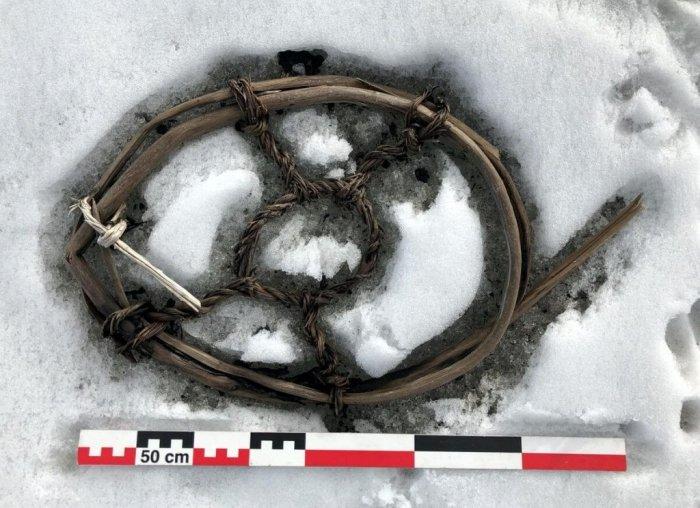 Uma raquete de neve para cavalos. (Espen Finstad / secretsoftheice.com)