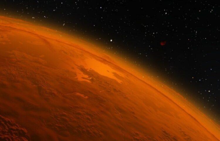 água salgada em Marte