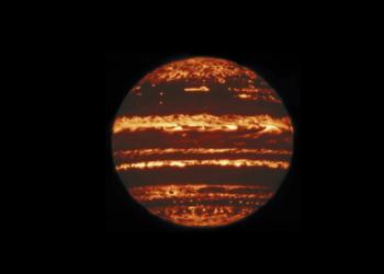 novas imagens de Júpiter
