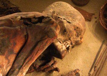 Mais antigo embalsamamento