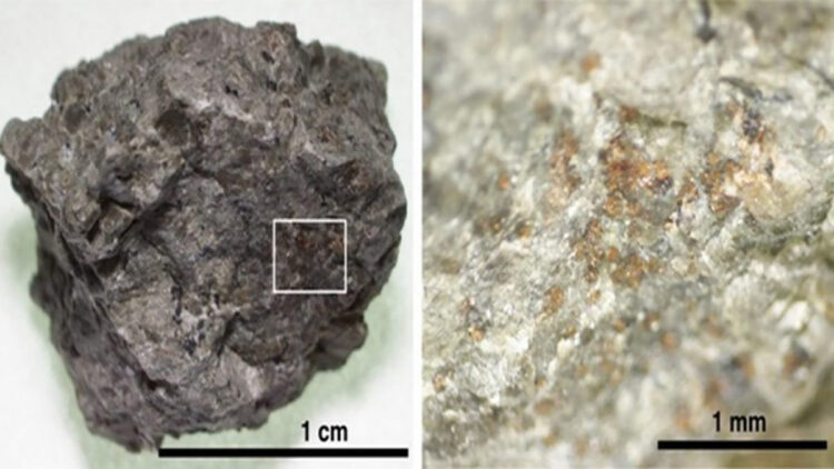 Nitrogênio em meteorito marciano