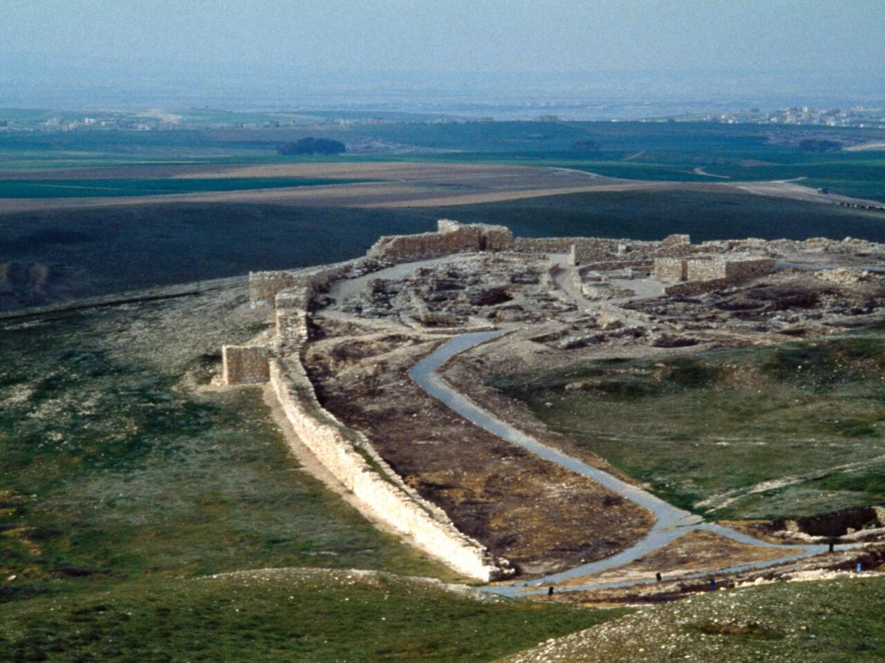 Local onde foi encontrado o templo da era bíblica