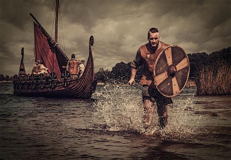 Representação dos vikings na América do Sul. (Fonte: Nejron Photo / Adobe stock)
