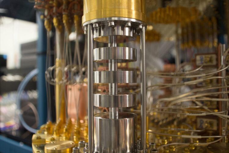 Computador quântico da IBM (Créditos da imagem: IBM)