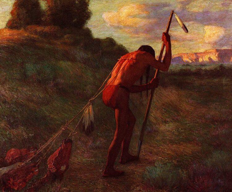 (Imagem: O Estoico. Joseph Henry Sharp (1914))