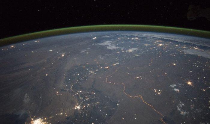Brilho verde em Marte