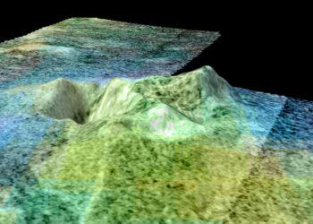 (Créditos da imagem:  (NASA/JPL-Caltech/USGS/University of Arizona)