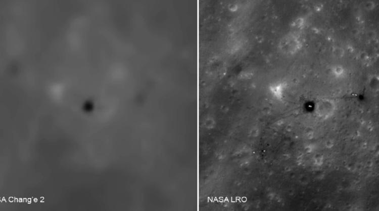 (Imagem: Programa de Exploração Lunar da China (CLEP))