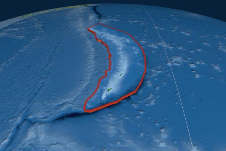 Fossa das Marianas vista do espaço (Créditos da imagem: Yarr65/Depositphotos).