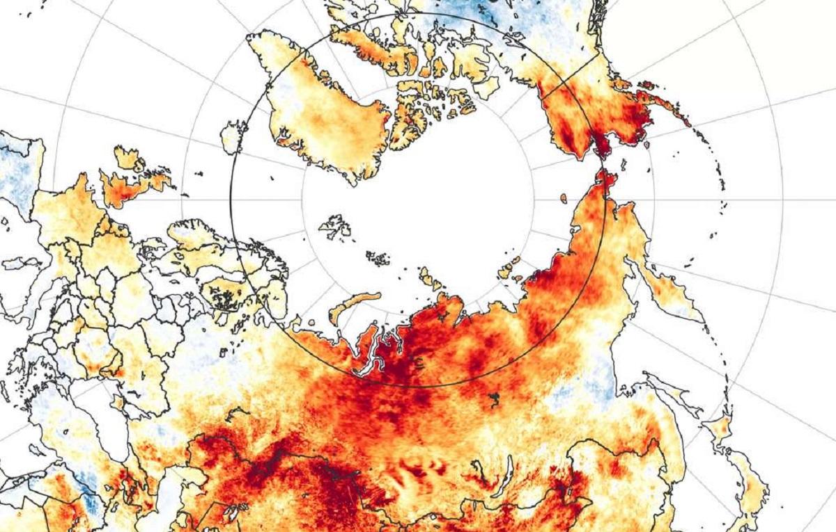 Incêndios que atingem o Ártico preocupam o mundo inteiro