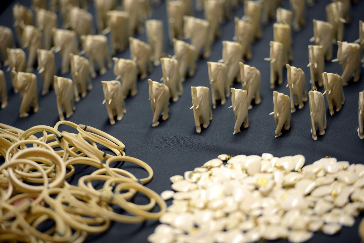 Objetos de marfim