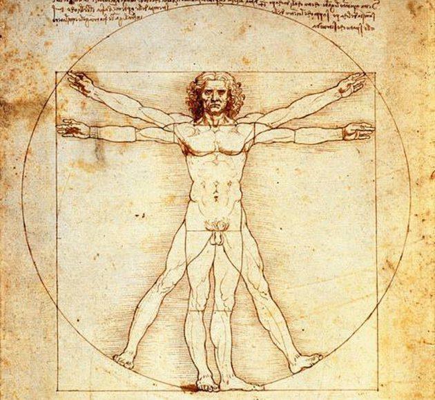 Leonardo da Vinci e o estudo do corpo humano