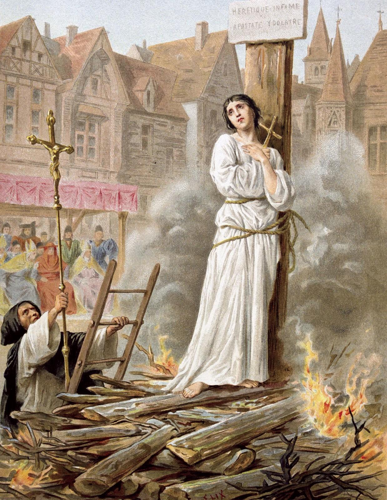 Falando de Anjos e Santos: A História de Joana D'Arc