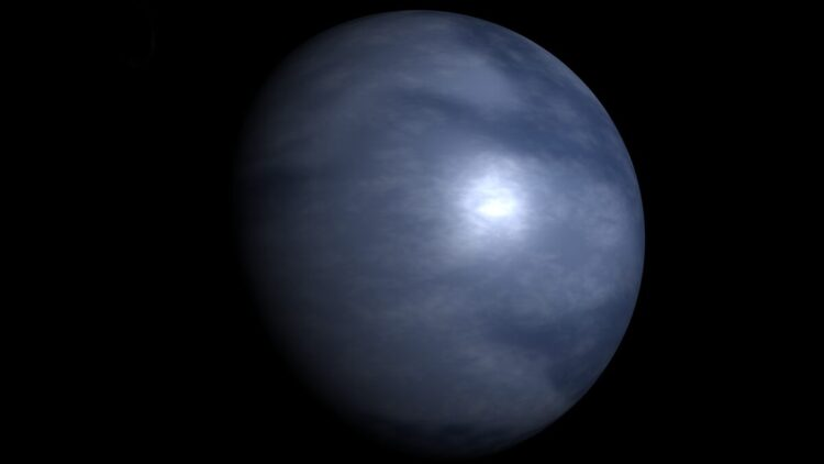 O planeta Terra era completamente coberto por água