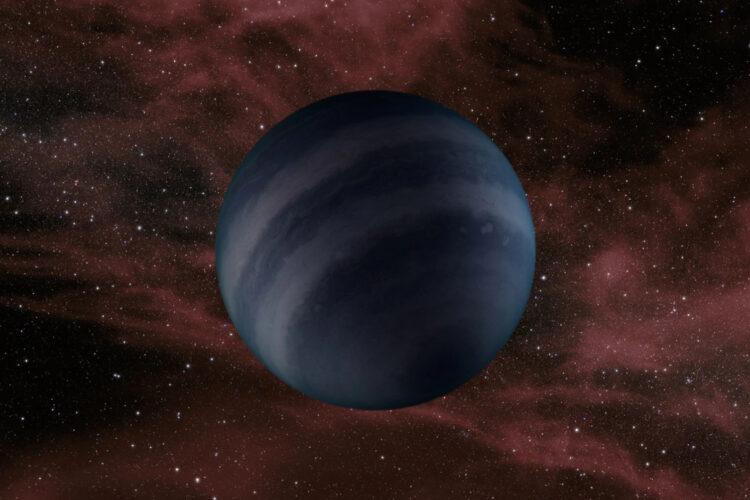 Concepção artística de uma anã negra. (Créditos da imagem: NASA/JPL-Caltech).