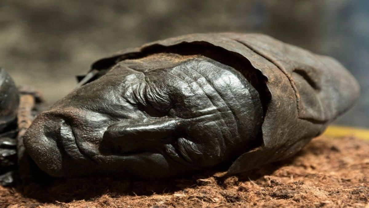 Corpos preservados neste pântano pré-histórico