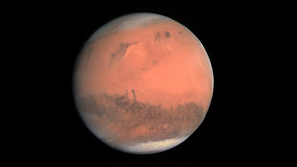 Marte pode ter sido coberto de gelo e não água