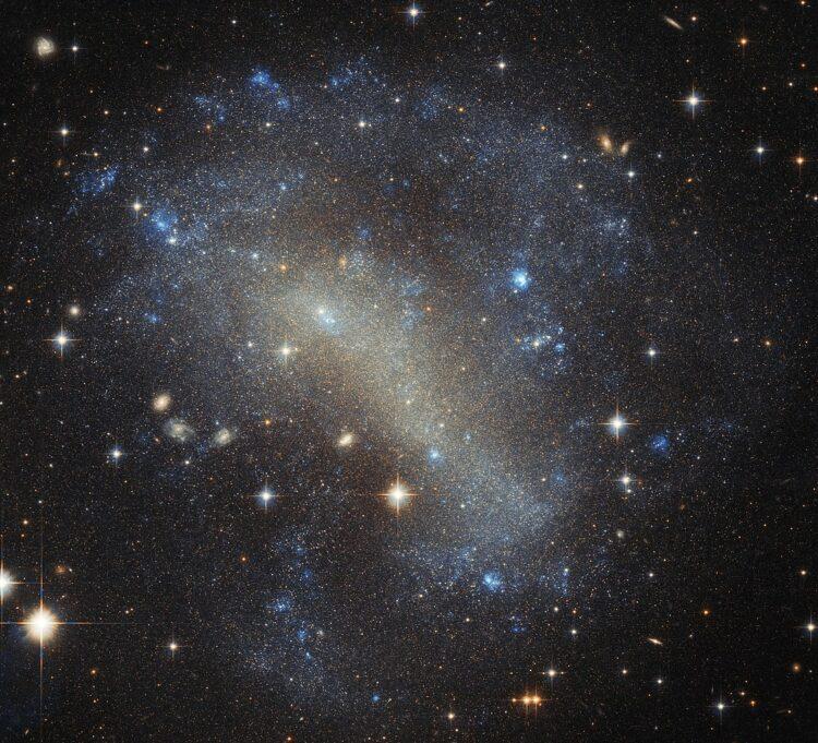 Galáxia IC 4710. (Créditos da imagem: ESA/Hubble/NASA).