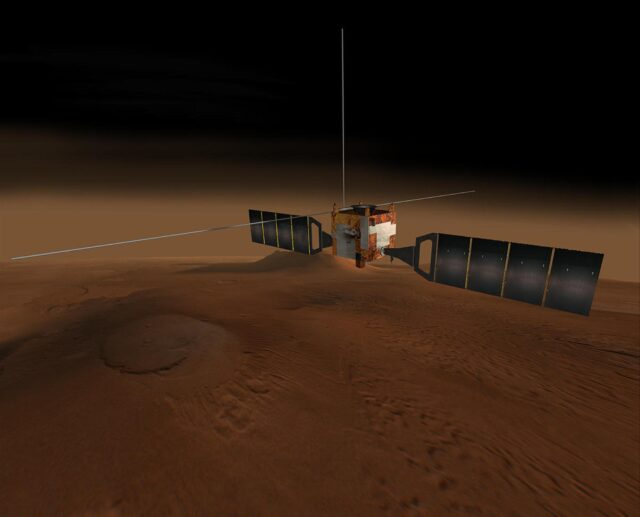 Água Marte