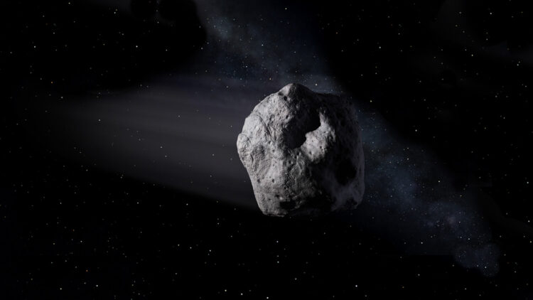 Concepção artística do 2020 SW. (Créditos da imagem: NASA-JPL).